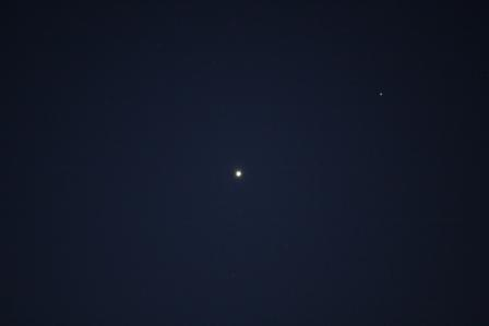 Venus in Morgensichtbarkeit